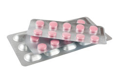 Spuiten en tabletten Royalty-vrije Stock Afbeelding
