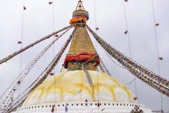 Spuka i Katmandu Fotografering för Bildbyråer