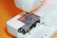Spule oder Spindel in einer Säenmaschine Lizenzfreie Stockbilder