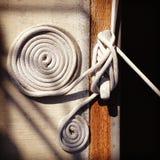 Spule und Knoten stockfotografie