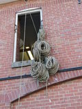 Spulen des Seils Stockfotos
