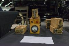 Spulen-Prüfvorrichtungskasten Ford Models T Stockfotografie