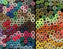 Spulen von Threads Stockbilder