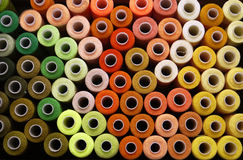 Spulen von Threads Lizenzfreie Stockfotografie