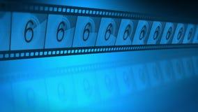 Spulenfilmführer stock footage