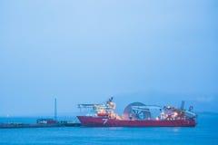 Spulenschiff Lizenzfreie Stockbilder
