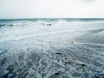 Spuma 1 tempestoso Fotografie Stock Libere da Diritti