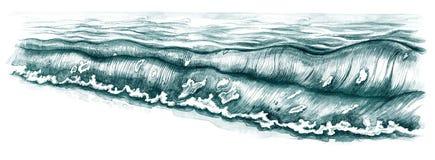 Spuma illustrazione di stock