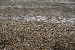 spuma del mare Immagini Stock Libere da Diritti
