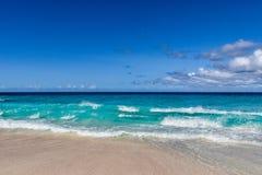 Spuma del mare in Seychelles Immagine Stock Libera da Diritti
