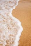 Spuma della spiaggia Fotografia Stock Libera da Diritti