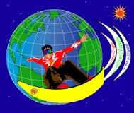 Spuma ed Internet 2.vector Fotografie Stock Libere da Diritti