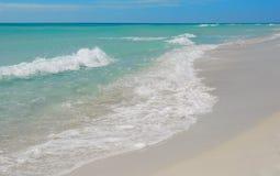 Spuma graziosa dell'oceano Immagini Stock Libere da Diritti