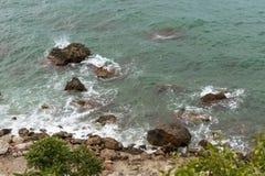 Spuma marina Fotografia Stock Libera da Diritti