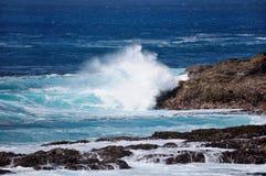 Spuma nell'oceano Fotografie Stock