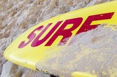 Spuma sulla spiaggia Fotografia Stock Libera da Diritti