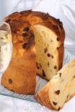 spumante panettone рождества торта итальянское Стоковые Фото