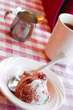 Spumoni Ice Cream Stock Image