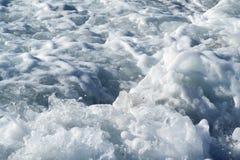 Spumoso del mare di Egean fotografia stock
