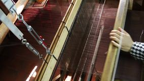 Spun Silk Machine Royalty Free Stock Photos