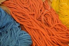 Spun wool Stock Image