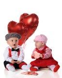 Spuntini di giorno del biglietto di S. Valentino immagine stock