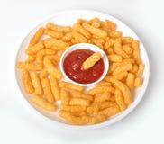 Spuntini - soffi del cereale Immagini Stock