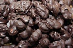 Spuntino casalingo del cioccolato Immagini Stock
