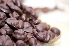 Spuntino casalingo del cioccolato Fotografia Stock Libera da Diritti