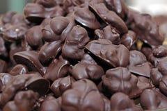 Spuntino casalingo del cioccolato Fotografie Stock