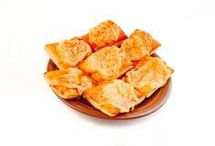 Spuntino con formaggio Fotografie Stock