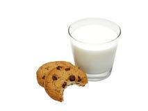 Spuntino del biscotto Fotografia Stock