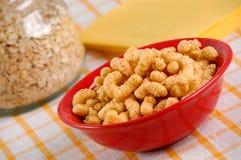 Spuntino del cereale con la decorazione Immagine Stock Libera da Diritti