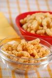 Spuntino del cereale con la decorazione Fotografie Stock