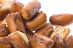 Spuntino del pane di aglio isolato Fotografie Stock Libere da Diritti