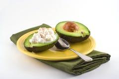 Spuntino dell'avocado Fotografia Stock Libera da Diritti
