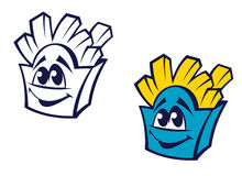 Spuntino della patata degli alimenti a rapida preparazione Immagine Stock