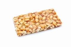 Spuntino di barra dell'arachide Immagini Stock Libere da Diritti