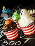 Spuntino di Halloween Fotografia Stock