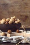 Spuntino dolce delle arachidi Immagini Stock