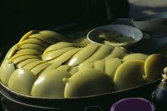 Spuntino fatto di grano saraceno Immagine Stock