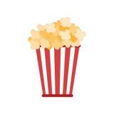Spuntino isolato del popcorn royalty illustrazione gratis