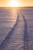 Spur auf See Monona Lizenzfreie Stockbilder