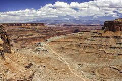 Spur Canyonlands NP Shafer Stockfoto