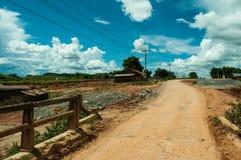 Spur in Laos Lizenzfreie Stockbilder