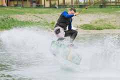 Spur-Schlittschuhläufer stockbild