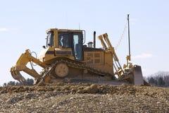 Spur-Typ Traktor Stockbilder