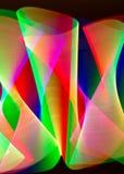 Spuren des Lichtes Stockbild