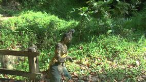 Spuren des Tsunamis bei Khao Lak stock video