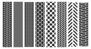 Spuren von Reifen Stockbilder